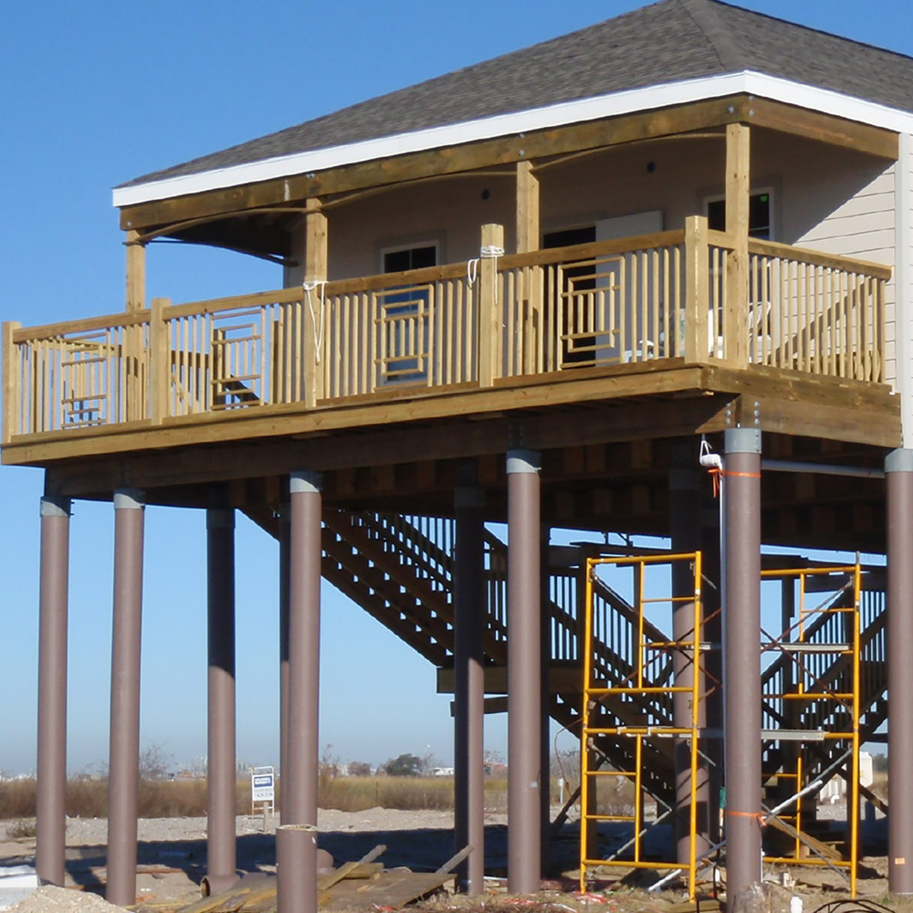 belaire home on pilings data-title=