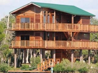 Crystal River Florida Home On Stilts Foundation