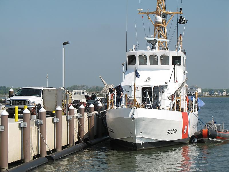 US Coast Guard, Cape May | Pearson Pilings