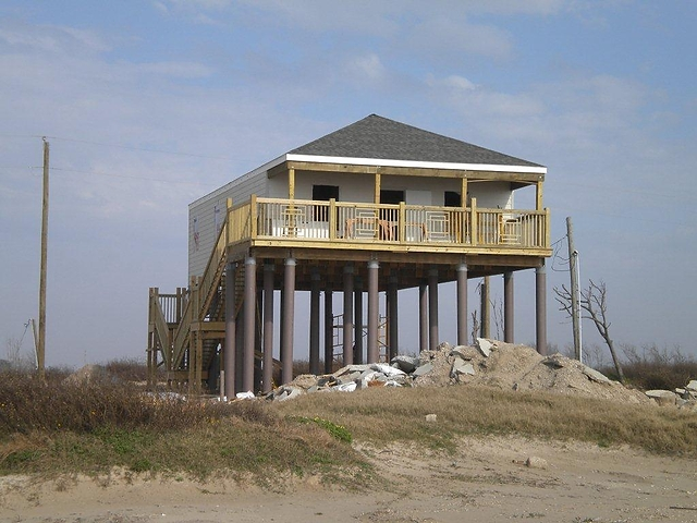 Pearson Fiberglass Composite Pilings House Foundation Photos