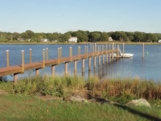 Dighton, MA pier | fiberglass composite pilings