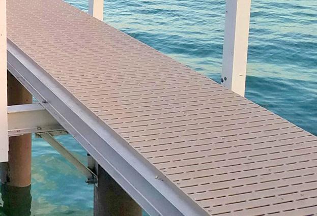Dock Building Techniques — Flow-through Decking