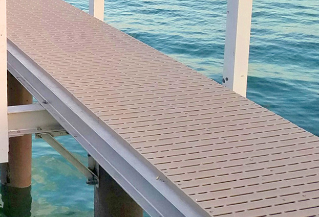 Dock Building Techniques — Flow-through Decking
