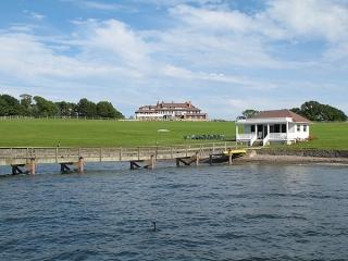 Hammer Smith Farm Pier with fiberglass pilings