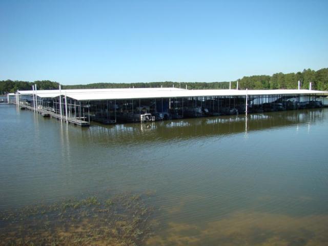 Sam Rayburn Marina, Brookeland, TX built with Pearson Pilings