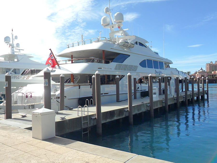 docks strong enough for large yacht data-title=
