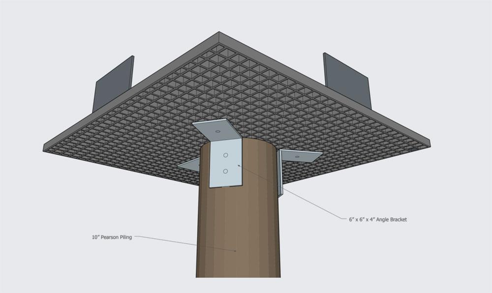 Osprey Platform by Pearson Pilings