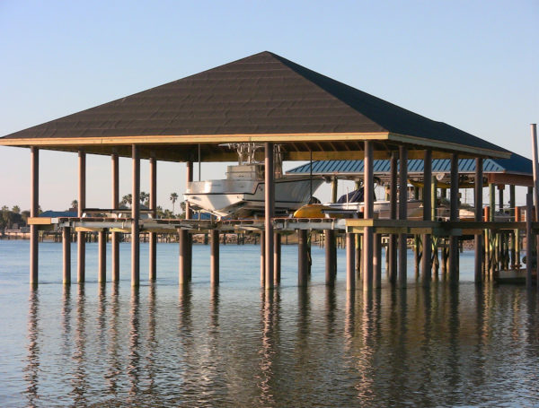 Crescent Beach, Florida raised dock