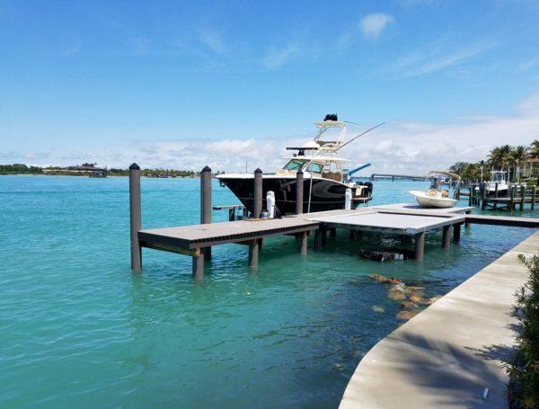 Sarasota, Florida residential dock
