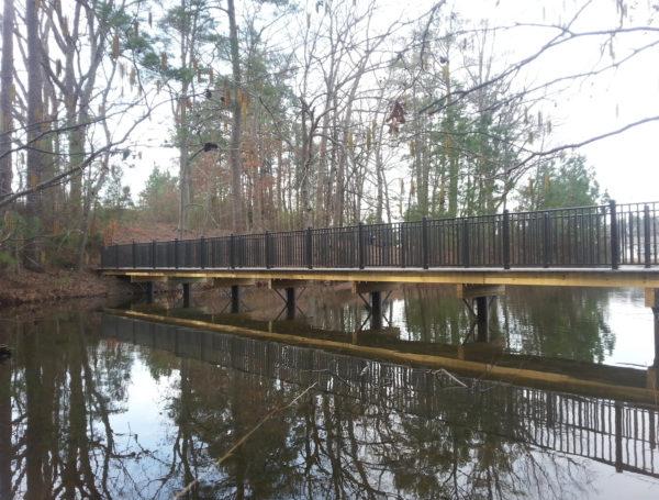 Apex, North Carolina Bridge Pilings